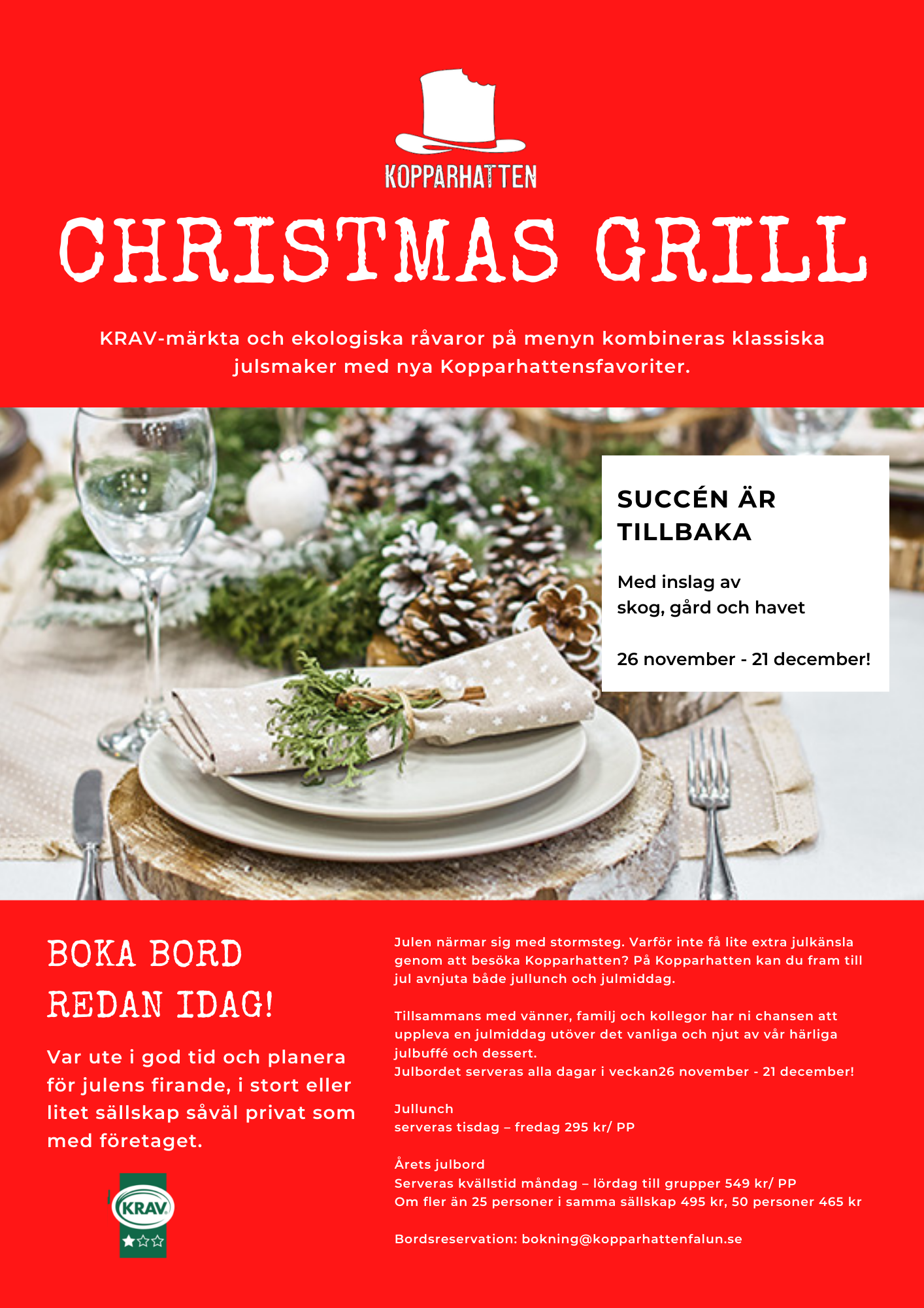 CHRISTMAS GRILL 2021
